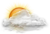 Mainly cloudy. Wind becoming southwest 20 km/h gusting to 40 early this afternoon. High plus 1.
