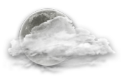 Partly cloudy. Wind up to 15 km/h. Low minus 5. Wind chill near minus 7.