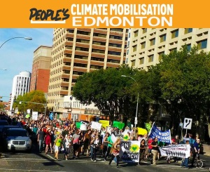 The People's Climate March Edmonton