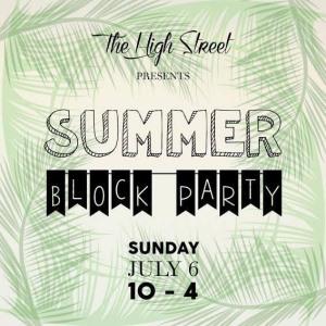High Street Summer Block Party