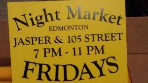 Night Market Edmonton