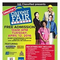 Edmonton Career Fair