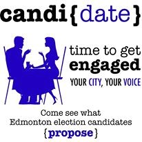CANDI{DATE} Wards 1, 2, 3, 4, 6 and 7 and Edmonton Mayoral Candidates