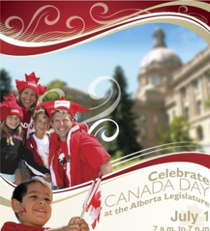 Celebrate Canada Day at the Legislature