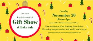 Royal Glenora Club Annual Christmas Gift Show