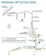 Northwest LRT to City Limits: Public Meeting