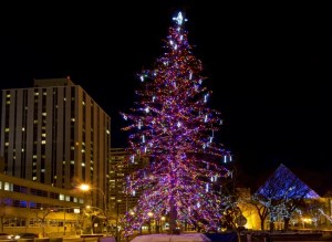 Christmas on the Square Holiday Light Up