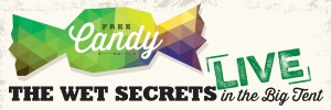 Alumni Weekend 2014: Free Candy! The Wet Secrets live in the Big Tent