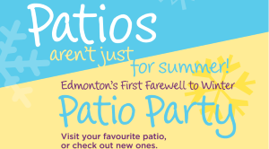 Farewell to Winter Patio Party