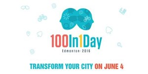100in1Day Edmonton Launch