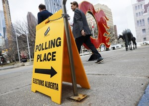 Alberta's (unofficial) results might be ready Friday as some races remain too close to call