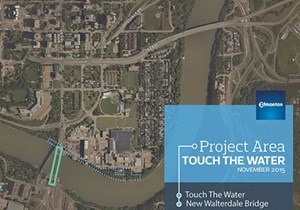 'Touching the water' an elusive goal as funds for stalled Edmonton river promenade set to dry up