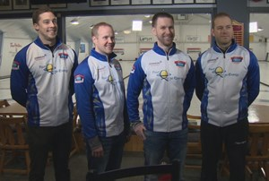 Putting on the Maple Leaf: Team Gushue preparing for world championships in Edmonton