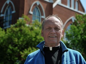 Fond farewell for Father Holland from Sacred Heart Church congregation