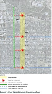 109th Street bike lanes up for consideration Tuesday at City Hall