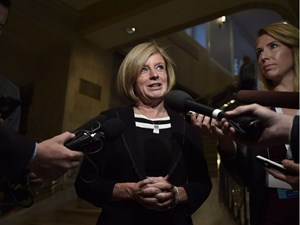 Alberta premier responds to criticism from Opposition over pipeline advocacy