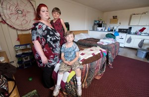Families living in government-sponsored squalor, say police