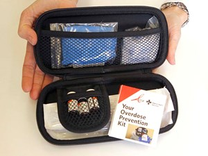 Naloxone kit holders asked to check contents for missing vials