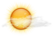 A mix of sun and cloud. Wind west 20 km/h gusting to 40. High plus 3. UV index 1 or low.