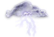 Cloudy. 30 percent chance of showers early this evening. Periods of rain beginning this evening. Risk of a thunderstorm late this evening and overnight. Wind northeast 20 km/h. Low 8.